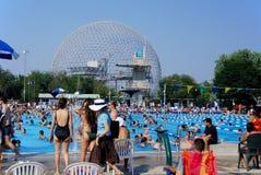 a abóbada geodesic Foto de Stock