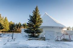 Abóbada grande - centro do visitante da astronomia da mancha solar - nanômetro imagem de stock