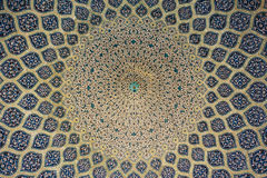 Abóbada islâmica Imagens de Stock Royalty Free