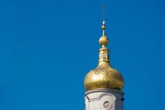 Abóbada isolada da igreja cristã com pulso de disparo Fotos de Stock Royalty Free