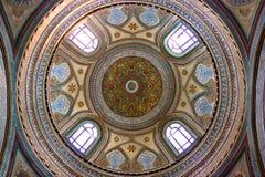 Abóbada no palácio de Topkapi, Istambul imagem de stock