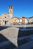Abóbada Romanic em Lodi, Italy fotos de stock