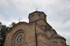 Abóbadas da igreja ortodoxa Fotografia de Stock