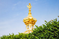 Abóbadas de Peterhof Fotografia de Stock Royalty Free