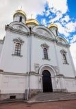 Abóbadas douradas da catedral de Catherine contra o céu azul Imagem de Stock Royalty Free