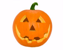 Abóbora alaranjada de Halloween Fotografia de Stock Royalty Free