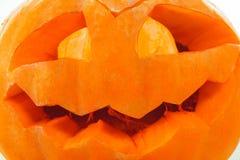 Abóbora cinzelada de Halloween Fotos de Stock Royalty Free