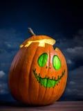 Abóbora da Jack-O-Lanterna Fotografia de Stock