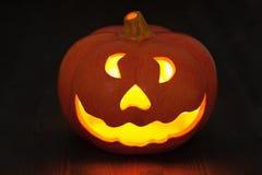 Abóbora da lanterna do jaque o de Halloween Fotografia de Stock