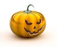 abóbora de 3d Halloween Fotos de Stock Royalty Free