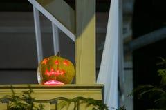 Abóbora de Dia das Bruxas, Zagreb, Croácia Fotos de Stock Royalty Free