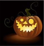 Abóbora de Halloween ilustração royalty free