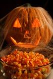 Abóbora de Halloween Foto de Stock