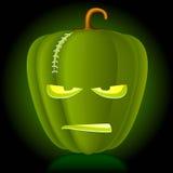 Abóbora de Halloween do vetor. ilustração stock
