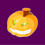 Abóbora de Halloween do vetor Imagens de Stock Royalty Free