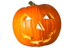 Abóbora de Halloween transversalmente Imagem de Stock Royalty Free