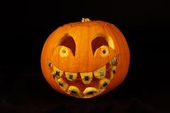 Abóbora de Helloween Imagens de Stock