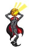 Abóbora decapitado Jack de Dia das Bruxas ilustração royalty free
