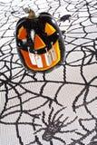 Abóbora do deko de Dia das Bruxas Fotografia de Stock Royalty Free