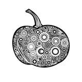 Abóbora do ornamental do vetor Fotografia de Stock Royalty Free