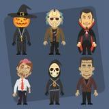Abóbora do vampiro do zombi da morte do maníaco do monstro Imagem de Stock Royalty Free