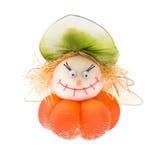 Abóbora engraçada de Halloween. Foto de Stock Royalty Free