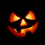 Abóbora feliz de Halloween Fotos de Stock Royalty Free