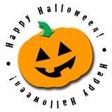 Abóbora feliz de Halloween Ilustração do Vetor