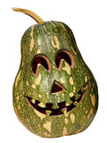 Abóbora Halloween verde Imagem de Stock Royalty Free