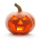 Abóbora Jack O'Lantern de Halloween Foto de Stock Royalty Free
