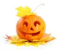 Abóbora Jack O'Lantern de Halloween imagem de stock royalty free