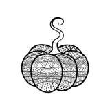 Abóbora ornamentado Imagens de Stock