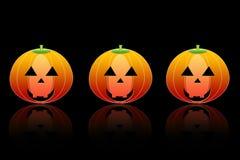 Abóbora para Halloween Imagens de Stock