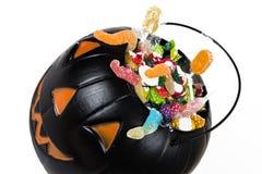 Abóbora plástica preta Imagem de Stock