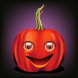 Abóbora subtil de Halloween Foto de Stock Royalty Free