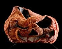 Abóbora terrível de Halloween imagem de stock royalty free