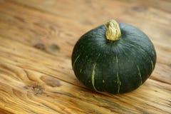 Abóbora verde do kabocha do Hokkaido do kuri imagens de stock royalty free