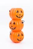 Abóboras de Halloween Fotos de Stock Royalty Free