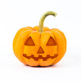 Abóboras de Halloween no fundo branco Foto de Stock