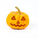 Abóboras de Halloween no fundo branco Imagens de Stock