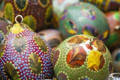 Abóboras decoradas Fotos de Stock