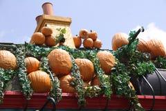 Abóboras no telhado Imagem de Stock Royalty Free