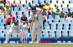 AB de Villiers. Abraham Benjamin de Villiers lining up the shot on the 1 day of the sunfiol test South Africa vs Sri Lanka at Supersport Park, Centurion, South Stock Photos