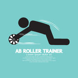 Ab-Roltrainer Symbol Royalty-vrije Stock Afbeelding