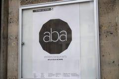 ABA beaux-τέχνες ατελιέ, Παρίσι στοκ εικόνα με δικαίωμα ελεύθερης χρήσης