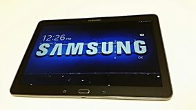 Aba da galáxia de Samsung Imagens de Stock Royalty Free