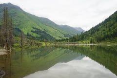 Aba-prefektur i det sichuan landskapet, berg för fyra flickor Royaltyfri Fotografi