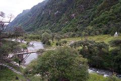Aba-prefektur i det sichuan landskapet, berg för fyra flickor Arkivbilder