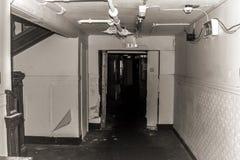 Ababdoned hall Royaltyfri Fotografi