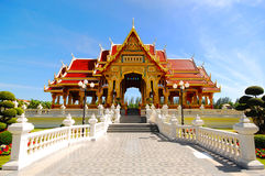 abac寺庙 库存图片